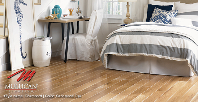 Mullican Flooring. Style Name: Chambord | Color: Sandstone Oak